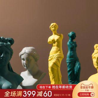 Nordic brokeback Venus ceramics furnishing articles goddess characters between example decoration art its art would model
