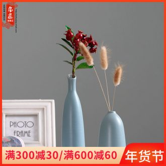 Creative flower implement furnishing articles zen dry flower vases, tea table dry flower flower arranging flowers is a Japanese ceramic home decorations