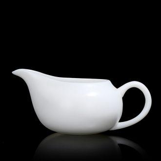 Quiet life suet jade ceramic fair keller of tea sea a single tea ware home points kung fu tea cups