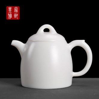 De - gen Chen Qin Quan, pot of inferior smooth high - white tea kettle teapot ceramics single pot CiHu hands contracted the pot of the small pot