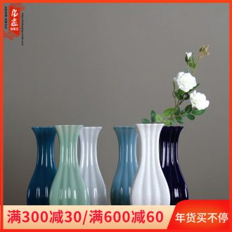 Floret bottle small sips the Nordic idea narrow expressions using lovely ceramic flower vase office desktop hydroponic water raise