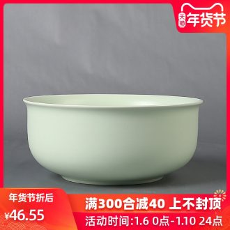 Up with porcelain remit ceramic tea to wash the black and white and green, large bowl cleansing utensils cup tea accessories