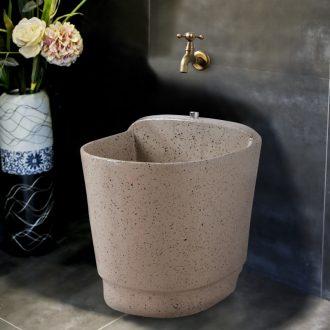 Ling yu ink dot restoring ancient ways home floor mop pool ceramic mop pool mop mop pool balcony toilet tank