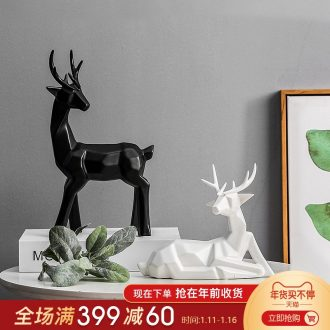 Mr Han mei Nordic creative household furnishing articles sitting room ark, ceramic decoration wedding birthday gift decoration