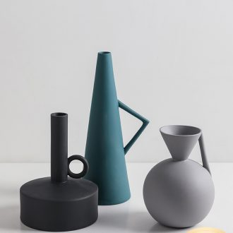 I and contracted jingdezhen ceramic vase furnishing articles sitting room between example flower arranging art deco flower implement creative geometry