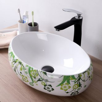 American contracted hotel ceramic stage basin sink toilet basin that wash a face wash basin oval large pool