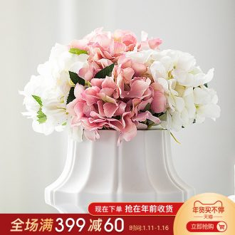 Mr Han mei Nordic contracted sitting room mesa ceramic simulation flower vase decoration ano creative Vienna furnishing articles