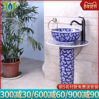 Ceramic sink home desk tray was the lavatory toilet lavatory small family toilet lavabo of new Chinese style