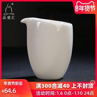 The Article aboriginal dehua porcelain sink jade porcelain make oneself dehua white porcelain tea sea kung fu tea set ceramic fair keller with zero