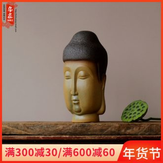 Jingdezhen ceramics craft porcelain household bedroom buddhist temple Buddha furnishing articles furnishing articles of primitive simplicity clay plain porcelain