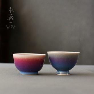 Open the slice serve tea pa up market metrix tasting tea cup single cup, ceramic sample tea cup kung fu tea cups