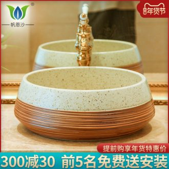 The Lavatory stage basin to restoring ancient ways round home toilet art small European - style ceramics basin toilet lavabo