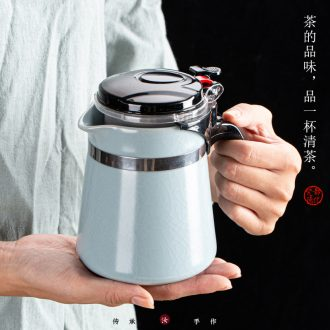 Your up and elegant glass teapot teacup ceramic teapot tea separation tank filter tea to the home office