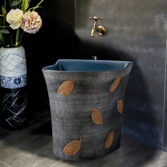 Ling yu household is suing its art leaves the mop pool ceramic mop pool is suing courtyard mop mop pool tank