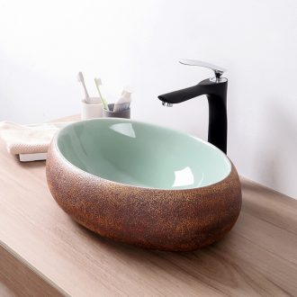 Its oval restoring ancient ways on the ceramic basin sink basin sinks hotel balcony small toilet stage basin