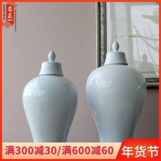 Booking with jingdezhen ceramic Bai Semei bottles furnishing articles sitting room porch decoration flower ornament porcelain