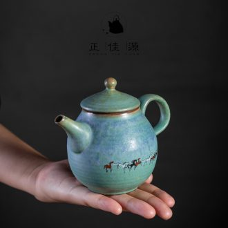 Are good source of archaize ceramic teapot household kung fu tea teapot side pot of filtering variable as single teapot