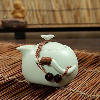 East west tea pot of ceramic kung fu tea set Japanese side set the pot of tea ware hand grasp pot of tea set your up up the teapot