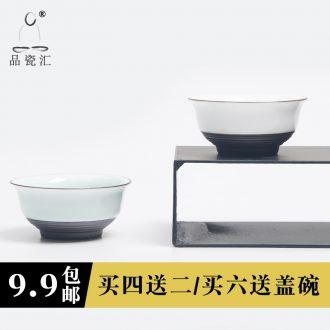 The Product porcelain hui xuan wen zen master cup against koubei glass ceramic individual sample tea cup kung fu tea set