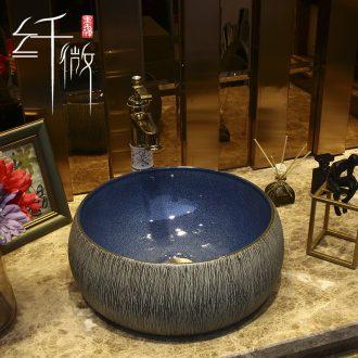European sink basin on circular household ceramic wash basin small art basin pool toilet 30 cm