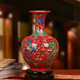 Jingdezhen ceramics archaize manual its in extremely good fortune vase classical household adornment furnishing articles ornaments