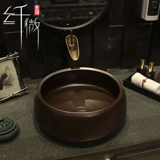 Hotel ceramic toilet lavabo stage basin round art basin sink basin sinks American restoring ancient ways