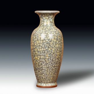 Jun porcelain of jingdezhen ceramics gold wire guanyao crackle vase archaize home handicraft furnishing articles
