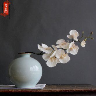 Jingdezhen ceramic vase furnishing articles slice of the sitting room with flowers, water raise flower arranging, I and contracted office desktop small expressions using