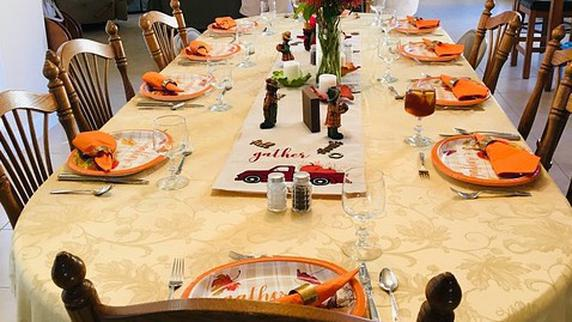 Worship (ONLINE ONLY) -  At The Table: Gratitude