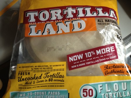 Review Tortilla Land Uncooked Flour Tortillas The Couch Sessions
