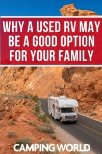 Why a used RV may be a good option for your family