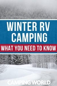 Winter RV camping - what you need to know