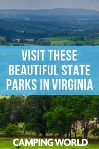 Beautiful state parks in Virginia