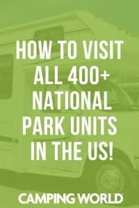 How to visit all 400+ National Park Units in the US