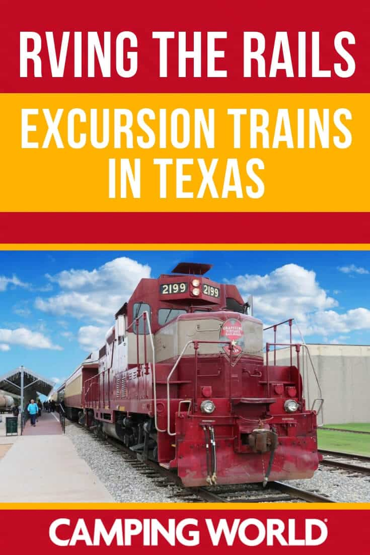 Excursion trains in Texas