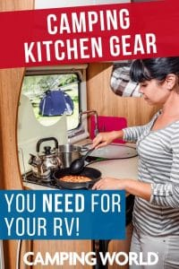 Camping kitchen gear you need for your RV