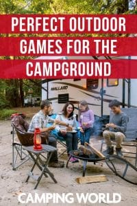 Perfect outdoor games for the campground