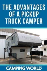 Advantages of a pickup truck camper