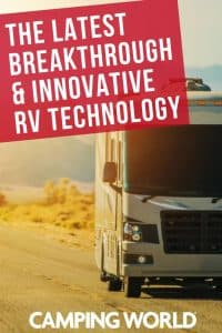 The latest breakthrough and innovative RV technology