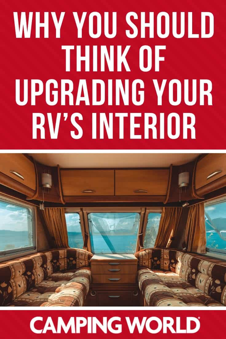 Why you should think of upgrading your RV's interior