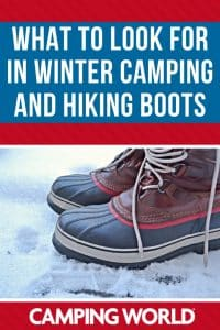 What to look for in winter camping and hiking boots