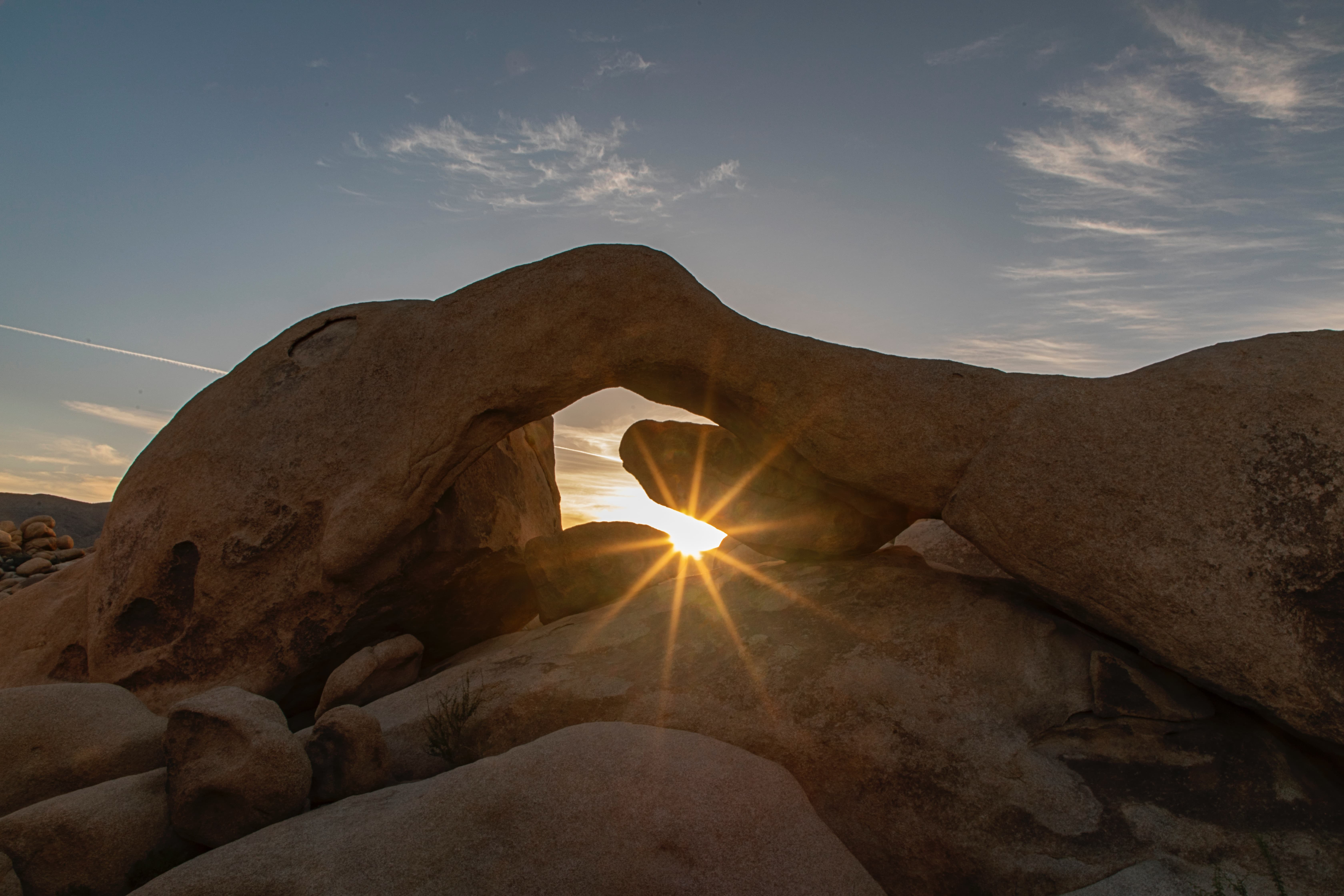 Arch Rock at sunset