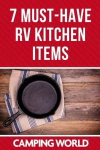 7 must have RV kitchen items