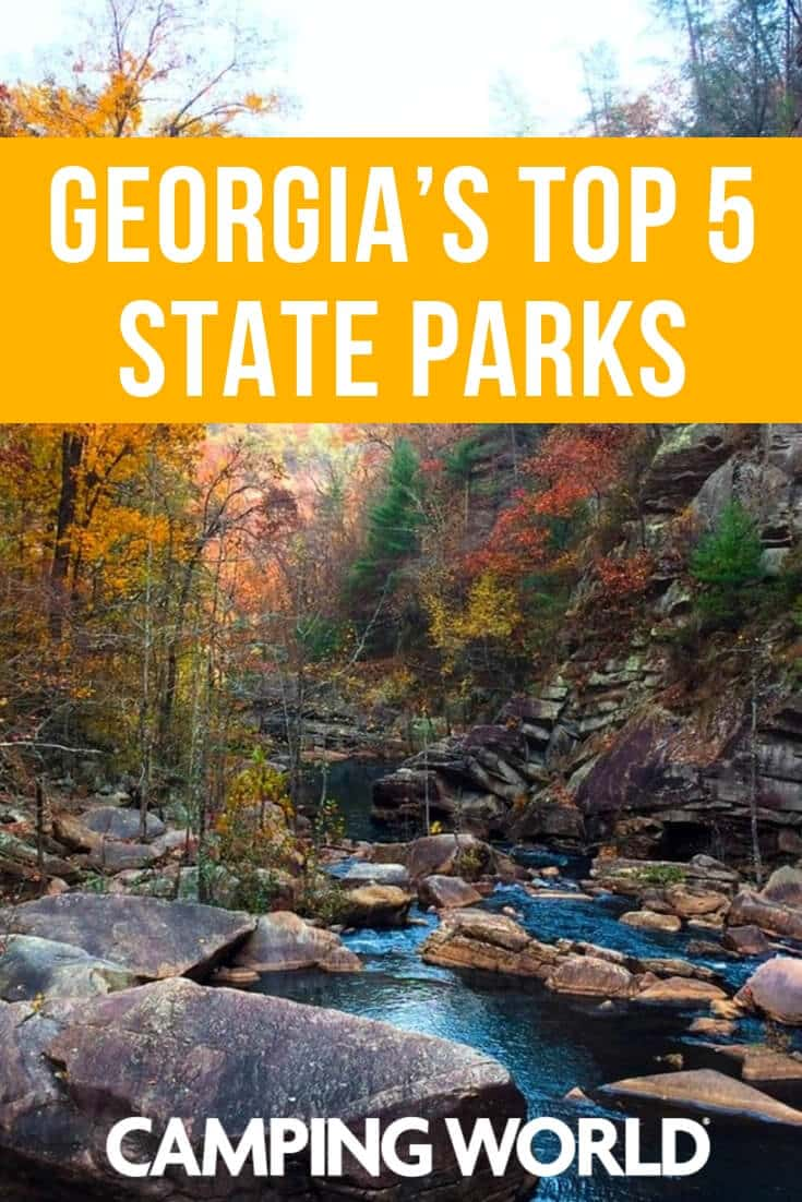 Georgia's top 5 state parks