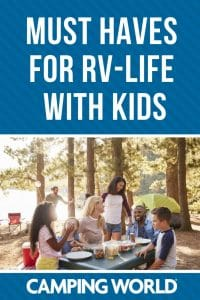 Must have items for RV life with kids