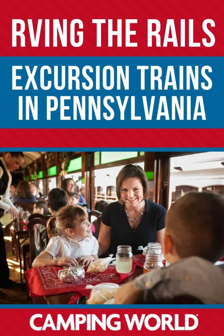 Excursion trains in pennsylvania