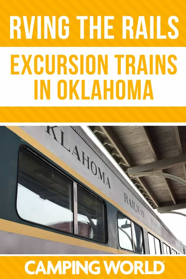 RVing the Rails - Excursion trains in Oklahoma