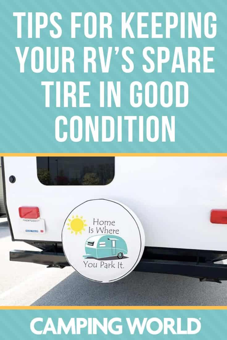 Tips for keeping your RV's spare tire in good condition