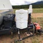 trailer electric jack