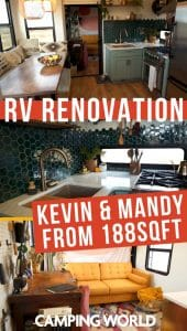 Kevin and Mandy's RV renovation